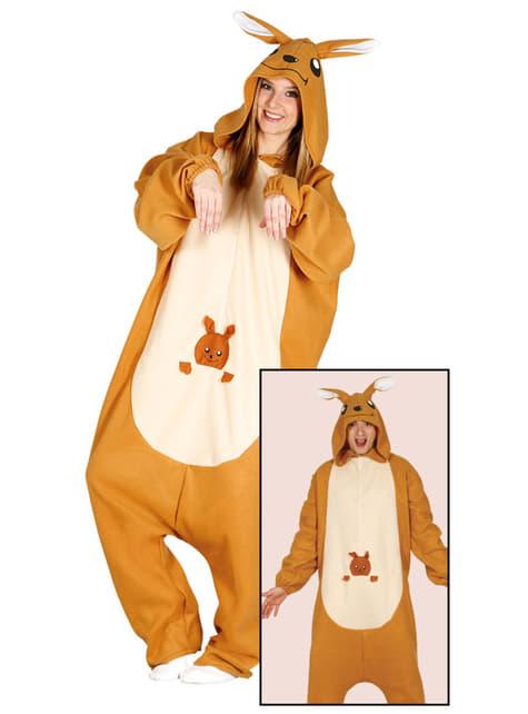 Kostium kangur onesie dla dorosłych