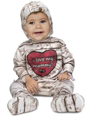 Fato de múmia para bebé