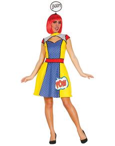 Costume da ragazza Pop Art per donna 84fd048c4e9