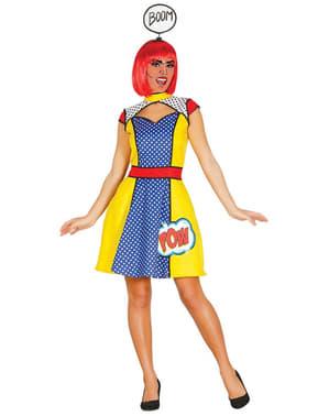 Naisten Pop Art Girl - asu