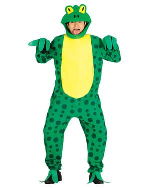 Grünes Frosch Kostüm für Erwachsene