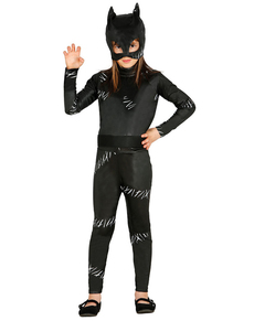 Girl's Cat Bandit Costume