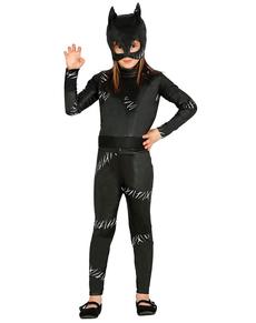 Maskeraddräkt Banditkatt för barn