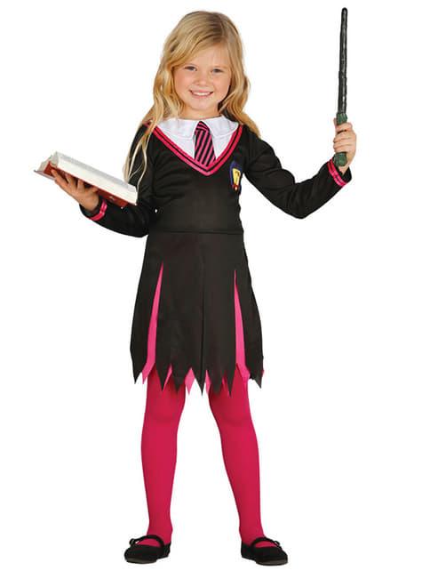 Girl's Student of Magic Costume