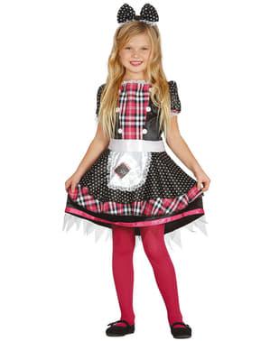 Costum de păpușă din cârpă pentru fată