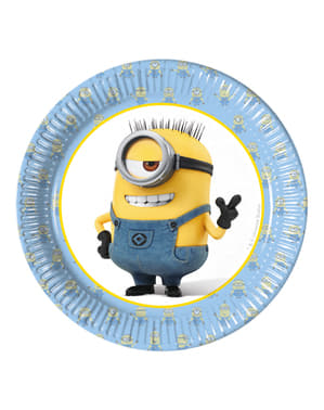 8 pratos Minions