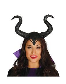 Diadema reina malvada para mujer