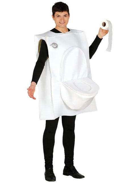 Disfraz de Mr. Toilet para adulto