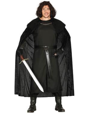 Kostium dla mężczyzn Lord Dowódca Jon