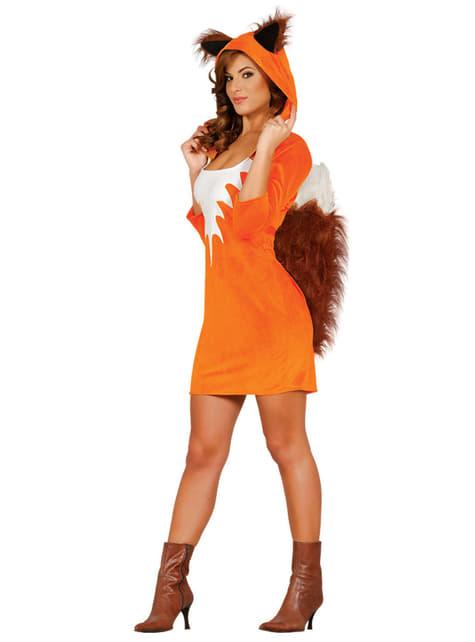 Disfraz de zorro para mujer