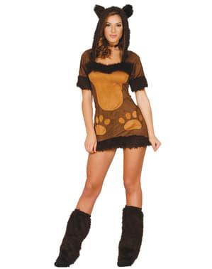 Beertje kostuum voor vrouw