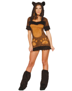 Woman's Little Bear Costume