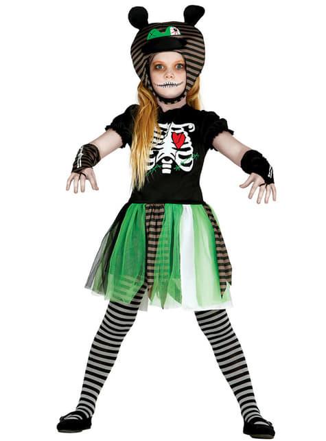 Disfraz de muñeca terrorífica para niña