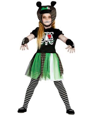 Schreckenerregende Puppe Kostüm für Mädchen