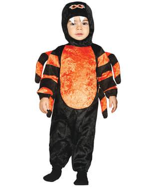 Бебешкия ярък малък костюм за паяк