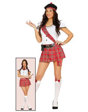 Costum de scoțian sau studentă pentru femeie