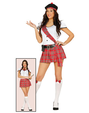 Woman's Scottish Student Costume