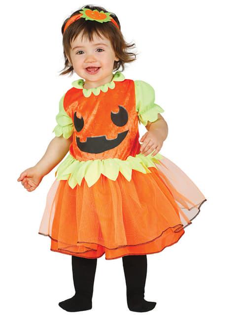 Baby's Smiling Pumpkin Costume