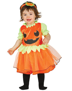 Baby's Smiling Pumpkin Costume