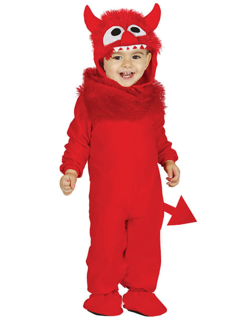 Baby's Red Monster Costume