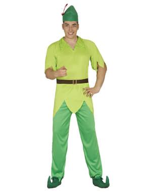 Peter Pan kostume til mænd
