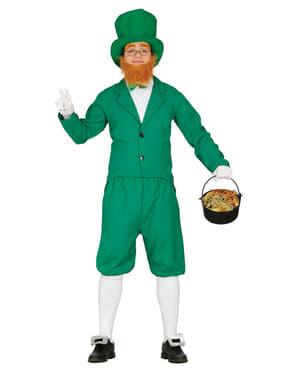 Mr. Leprechaun Kostyme for Menn