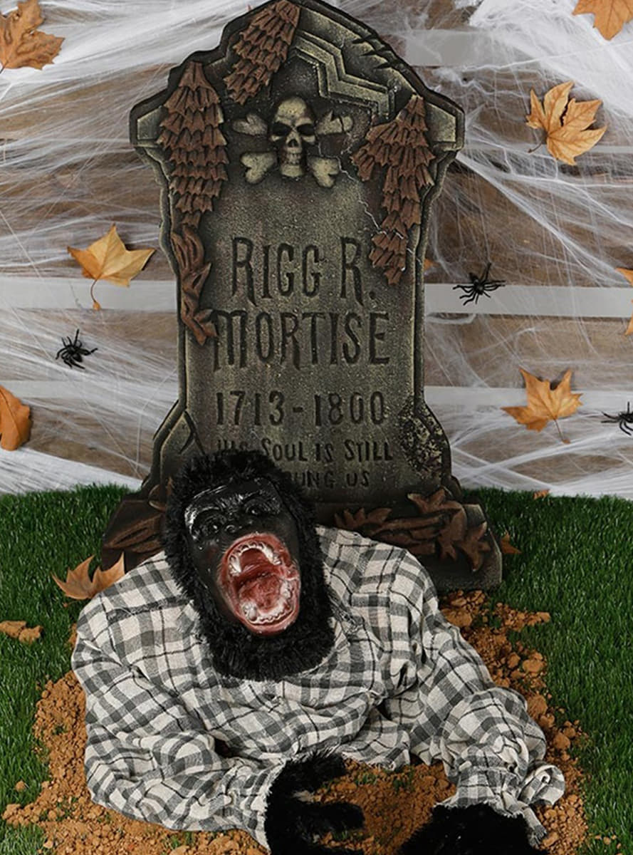 d coration monstrueux gorille pour halloween funidelia