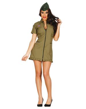 Suggestieve sergeant kostuum voor vrouwen
