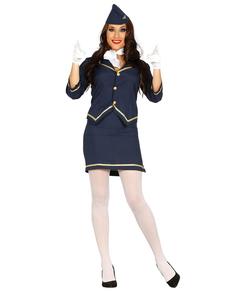 Voliamo E Pilota Funidelia Hostess Di Costumi 7UqITT