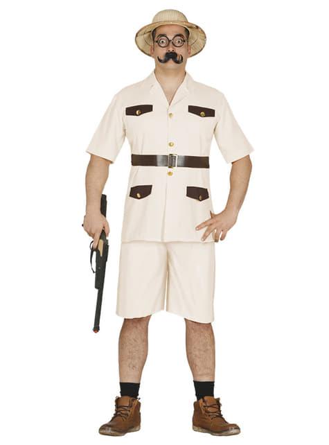 Disfraz de explorador para hombre