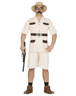 Forscher Kostüm für Herren