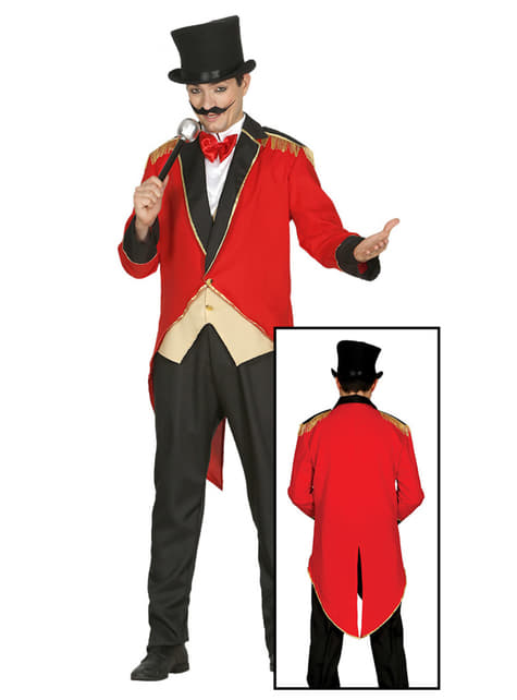 Disfraz de domador de circo - hombre