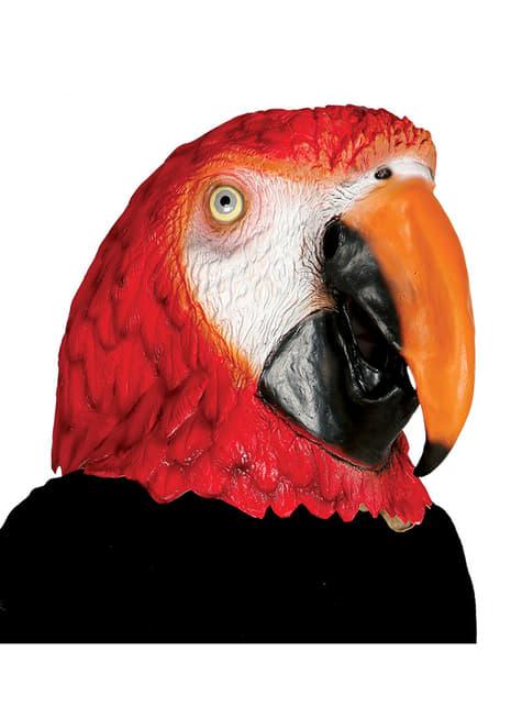Masque perroquet adulte