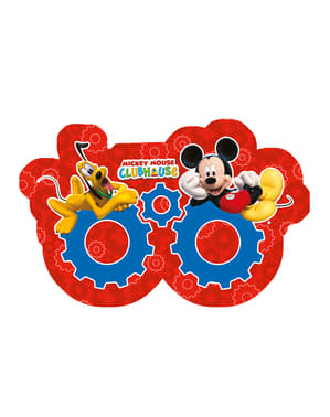 6 máscaras Playful Mickey - Mickey Club House