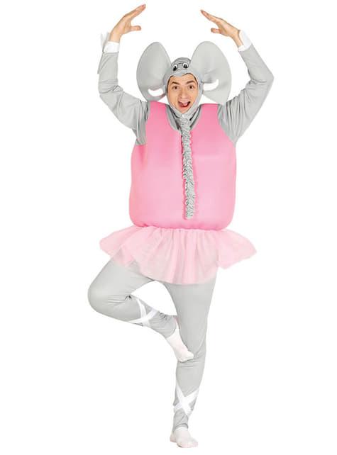 Kostium tancerz słoń dla dorosłych