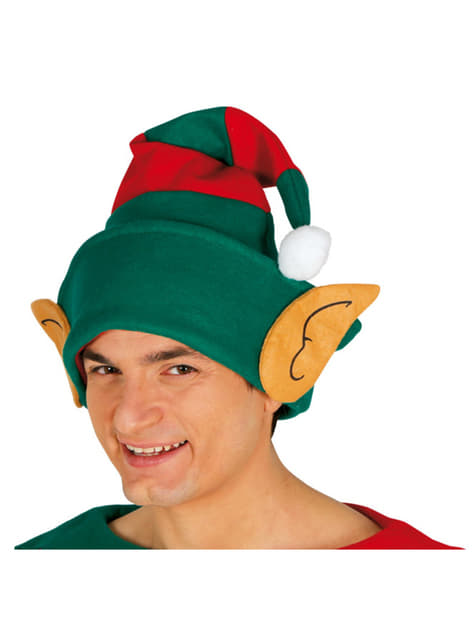 Christmas Elf Hat with Ears