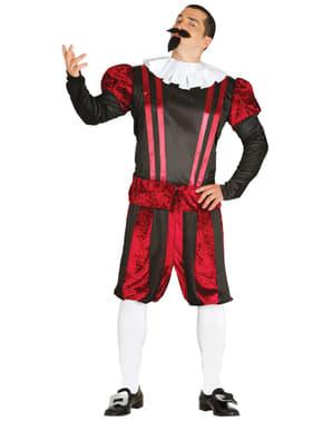 Disfraz de Cervantes para adulto