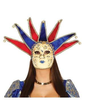 Masque vénitien arlequin