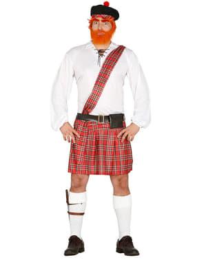 Traditionelt skottekostume til mænd