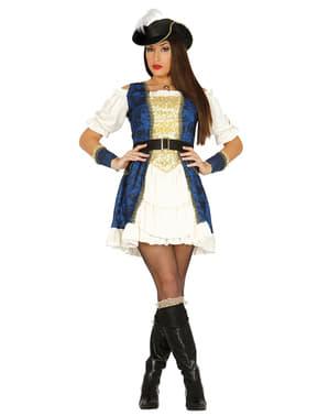 Woman's Elegant Pirate Costume
