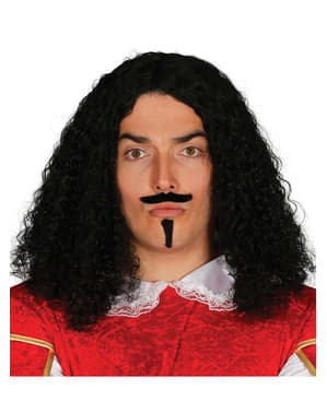Musketeer Goatee and Wig for Men