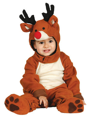 Baby's Adorable Reindeer Costume