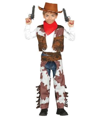 Dječački hrabri kostim kauboja