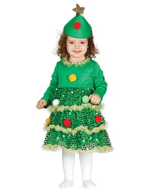 Fato de árvore de Natal para bebé