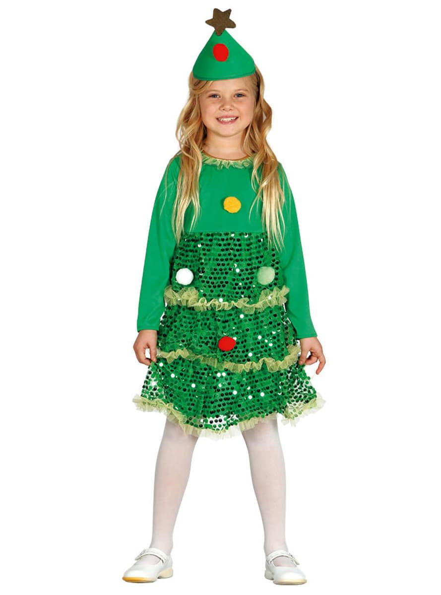 Disfraz de rbol de navidad brillante para ni a comprar - Disfraz para navidad ...