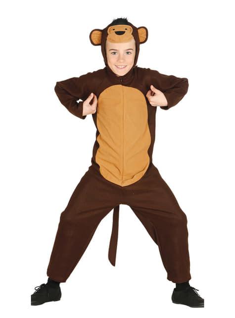 Disfraz de mono para niño