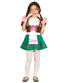 Girlu0027s Bavarian Costume  sc 1 st  Funidelia & Hansel and Gretel Costumes online | Funidelia