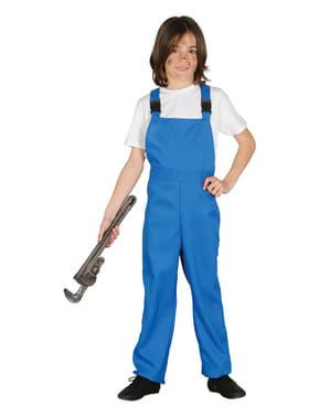 Blauer Overall für Kinder
