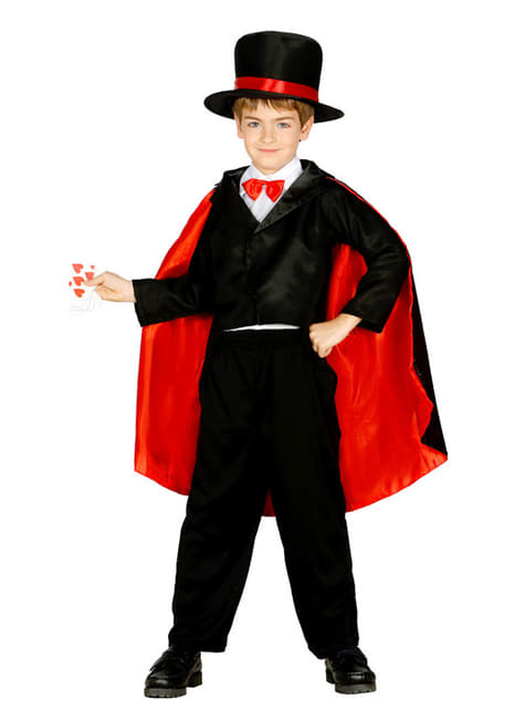 Fato de mago abracadabra para menino