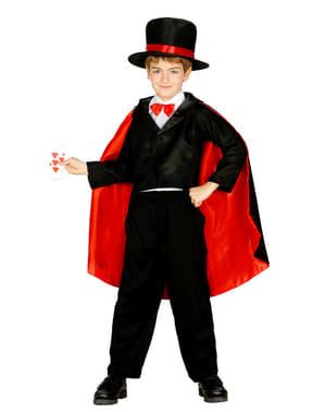 少年のアブラカダブラ魔術師コスチューム